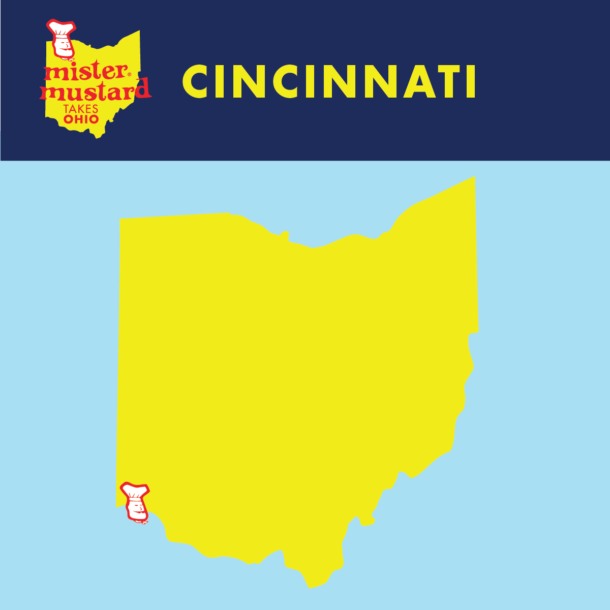 Mister Mustard Takes Ohio: Cincinnati
