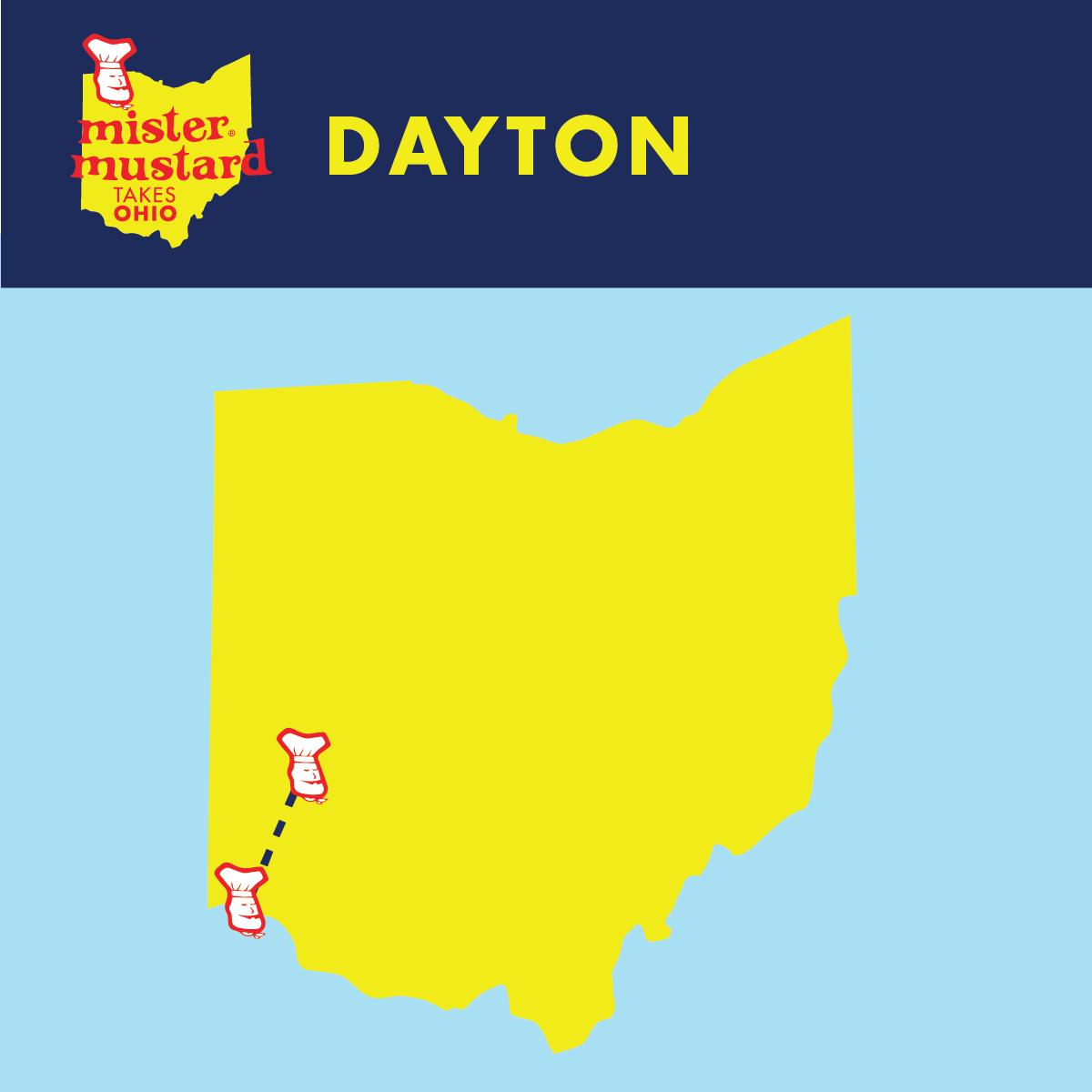 Mister Mustard Takes Ohio: Dayton